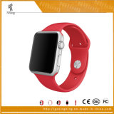 Силиконовый смотреть спорт для диапазона Iwatch, резиновые ремни для Apple Смотрите, 38 мм/42 мм Link запястья спорта для Apple Смотрите диапазона