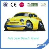 Afgedrukt om de Handdoek van het Strand met het Opblaasbare Pakket van het Hoofdkussen