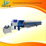 Die am meisten benutzte Brücken-Klärschlamm-Behandlung-Filterpresse ist Schlamm-entwässernprozeß