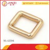 Fivela deslizante em liga de zinco em forma de quadrado ou retângulo