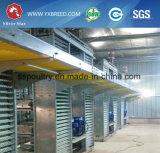 Batterijkooi van de Kip van de Laag van de Apparatuur van het Landbouwbedrijf van het Gevogelte van de besparing de Ruimte