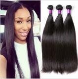 Topestの品質のねじれた巻き毛の直毛のブラジルの人間の毛髪の拡張