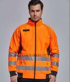 Jasje Workwear van de Veiligheid van het Zicht van de winter het Hoge