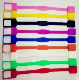 Nuevo mecanismo impulsor del flash del USB del Wristband del estilo y colores mezclados