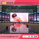 Precio mayorista de alquiler de Color exterior/fijo P10 en la pantalla LED para publicidad