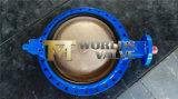 Válvula de borboleta do disco do bronze de alumínio (D71X-10/16)