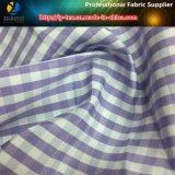 T-/Cgarn gefärbtes Check-Gewebe für beiläufiges Hemd/Geschäfts-Hemd
