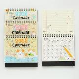 Servizio di stampa su ordinazione del calendario del Hardcover dello scrittorio del Collegare-o di nuovo stile