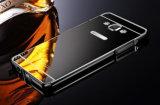Dekking van het Geval van het Frame van het Aluminium van het Metaal van de Spiegel van de luxe de Uiterst dunne voor Samsung Grote Eerste G530