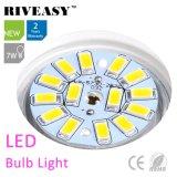 luz de bulbo de 7W LED con el Bis de Ce&RoHS