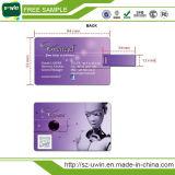 De hete Aandrijving van de Flits van de Stok van de Douane USB van de Creditcard (uwin-054)