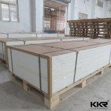 Material de construção Branco Puro modificada uma superfície sólida para a parte superior da mesa