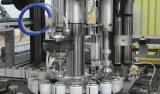 충전물 기계 자동적인 액체 가스 물 병 채우게 레테르를 붙이는 기계장치