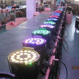 Het LEIDENE van het Stadium RGBW van de Apparatuur 24X10W van DJ 4in1 PARI kan