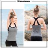 Diseño personalizado de desgaste de Fitness Mujer Camiseta Normal Superior