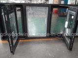 Migliore finestra di alluminio di vetro Tempered di qualità di Foshan Woodwin con lo schermo degli ss