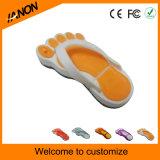 Tipos da movimentação do flash do USB do PVC das sapatas das cores com alta qualidade