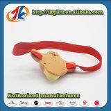 Funny Plastic Animal Lion Figurine Head Lamp Toy