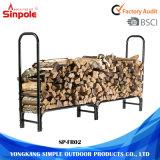Cremagliera di alta qualità di memoria della legna da ardere del metallo di risparmio della stanza