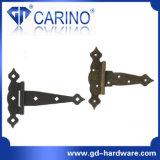 Tipo placcato zinco cerniera (HY821) dell'acciaio inossidabile T