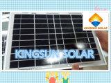 Painéis solares polis de eficiência elevada (KSP3-125W)