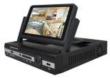 LCD de 4 Canais todos em um Monitor NVR com visor do monitor LCD de 7 polegadas