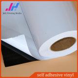Белый назад самоклеящаяся виниловая пленка ПВХ наклейки для использования вне помещений материала
