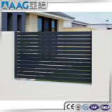 Panel de cerco de aluminio decorativo
