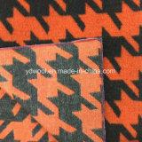 Большая ткань шерстей Houndstooth для шинели