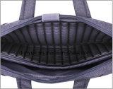 Saco Shockproof de nylon do mensageiro do portátil do projeto do fornecedor de China, saco da pasta do ombro do portátil Multi-Functional portátil único com correia ajustável