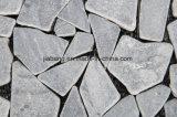 Mattonelle naturali di collegamento esterne del giardino del mosaico della lastra del travertino della pietra DIY della pavimentazione