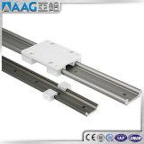 Canal del aluminio de la pista doble