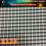 Товар наличных дег, ткань проверки пряжи полиэфира покрашенная для одежды (X121-123)