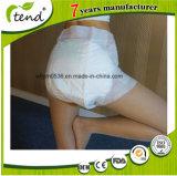 Fraldas de mulher adulta ultra grossas descartáveis para idosos