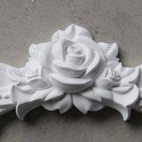 O plutônio floral dos Onlays/Appliques da decoração da parede do poliuretano Ornaments Hn-S017