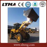 Capacidad del compartimiento de Ltma 2.5m3 pequeño cargador de la rueda de 4 toneladas