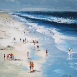 [أيل بينتينغ] مع منظر من شاطئ لأنّ زخرفة