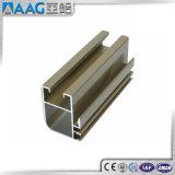 Perfil de alumínio do revestimento Polished do cromo para portas de gabinete