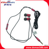 Metal Stereo Shell Ear Earphone with Wire Function