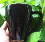 Mug de café en porcelaine noire New Design 11oz Black