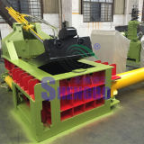 Resíduos automática de Aço de metal ferro cobre alumínio Enfardadeira