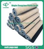Stuoia speciale di disegno della stuoia di yoga del sughero stampata abitudine ecologica naturale