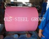 Bobina galvanizada prepintada del acero Sheets/PPGI/rodillo de acero revestido del color