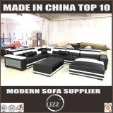 تصميم فريد حديث أريكة صنع وفقا لطلب الزّبون مجموعة جلد أريكة