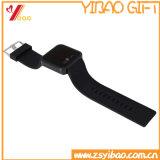 Custom Logo Haute qualité PVC mignon réveil (YB-HD-75)