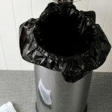 Saco de lixo plástico industrial vedado
