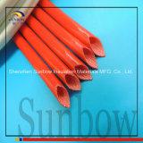 Sunbow Silikon-Gummi-Lack-Glasfaser, die für Kohlebürste Sleeving ist