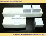 Gutschrift in Scheckkartengröße30mil Plain die weiße Belüftung-Karte, die für Drucken geeignet ist