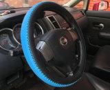 Dekking van het Stuurwiel van de Auto van het Silicone van de douane de Goedkope Kleurrijke