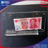 Chine 1 & 100 RMB Châssis Currence acrylique